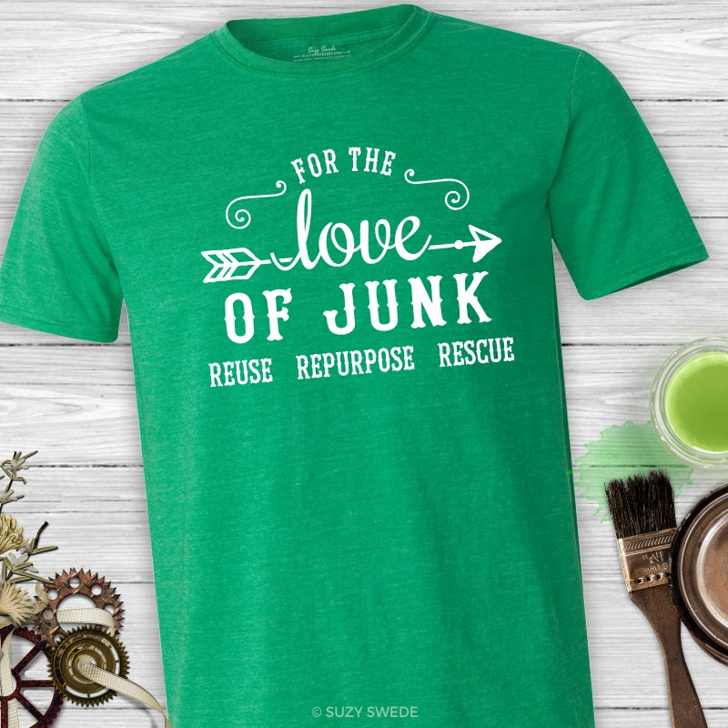 For the Love of Junk Vintage Style Grapic Tee