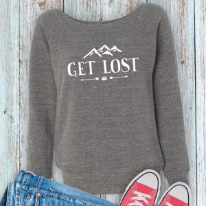 Get Lost Ladies Fleece Sweatshirt