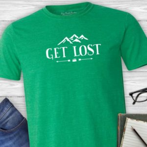 Get Lost Hiking Tshirt