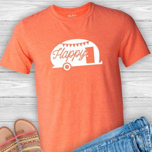 Happy Camper Tee Shirt