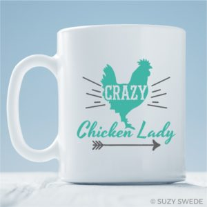 Crazy Chicken Lady Mug
