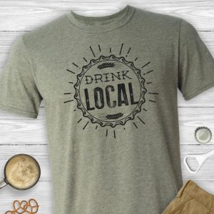 Drink Local Unisex Beer Tee Shirt