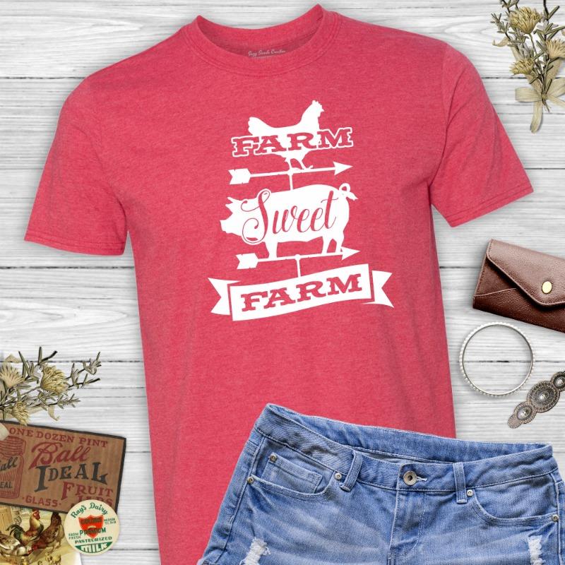 Farm Sweet Farm Graphic Tee