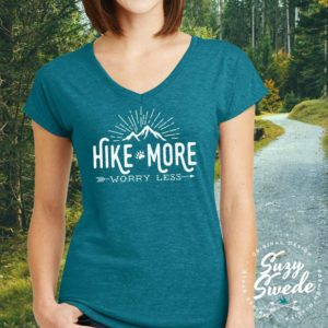 Ladies Hiking Shirt - Hiking Graphic Tees