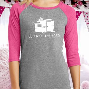 Queen of the Road Ladies Baseball Tee
