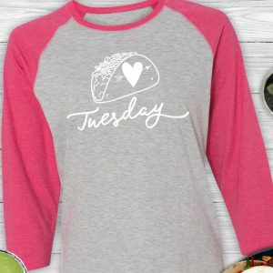 Taco Tuesday Baseball Tee