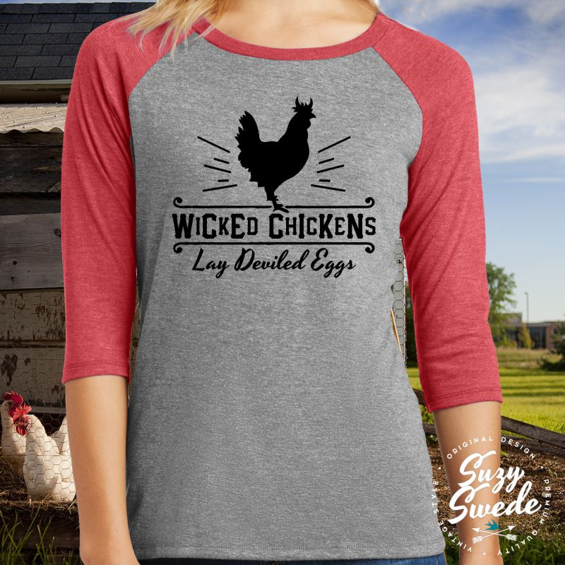 Wicked-Chickens-Lay-Deviled-Eggs-Baseball-Tee