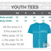 Youth Size Chart - Suzy Swede Creative