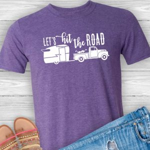 Let's Hit the Road Camping T-Shirt