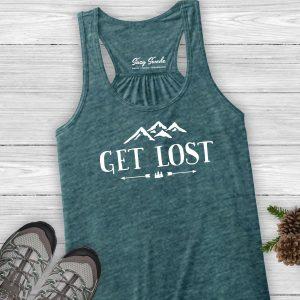 Get Lost Ladies Hiking Tank