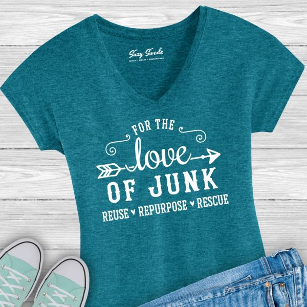 For the Love of Junk Ladies Junkin Shirt