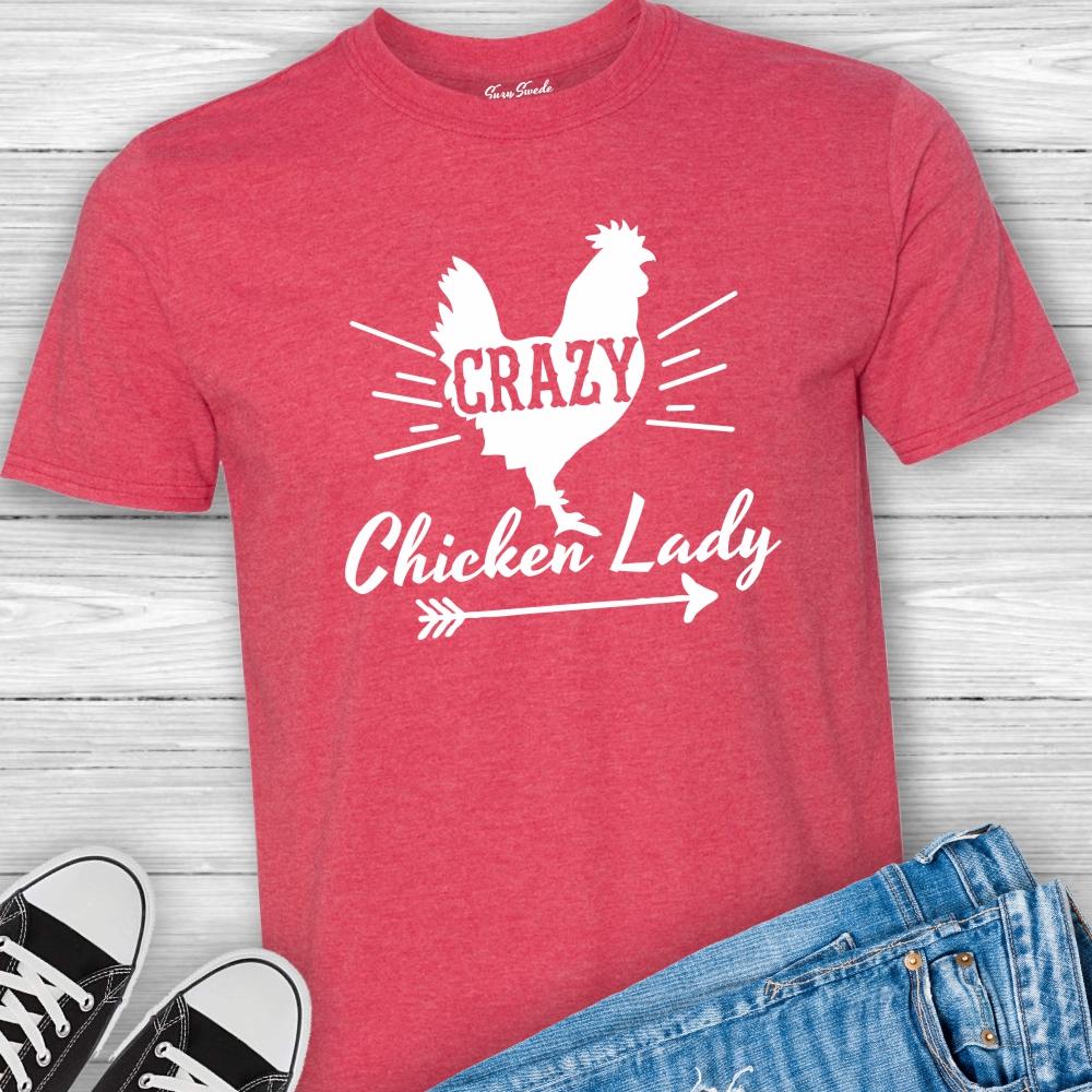Crazy-Chicken-Lady-Tee-Shirt