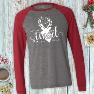 Don't Get Your Tinsel in a Tangle Long Sleeve Unisex Tee