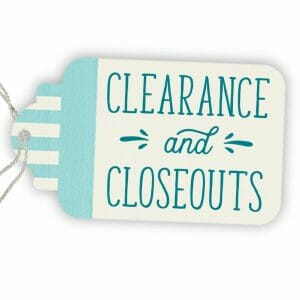 Clearance | Closeouts | Overstocks