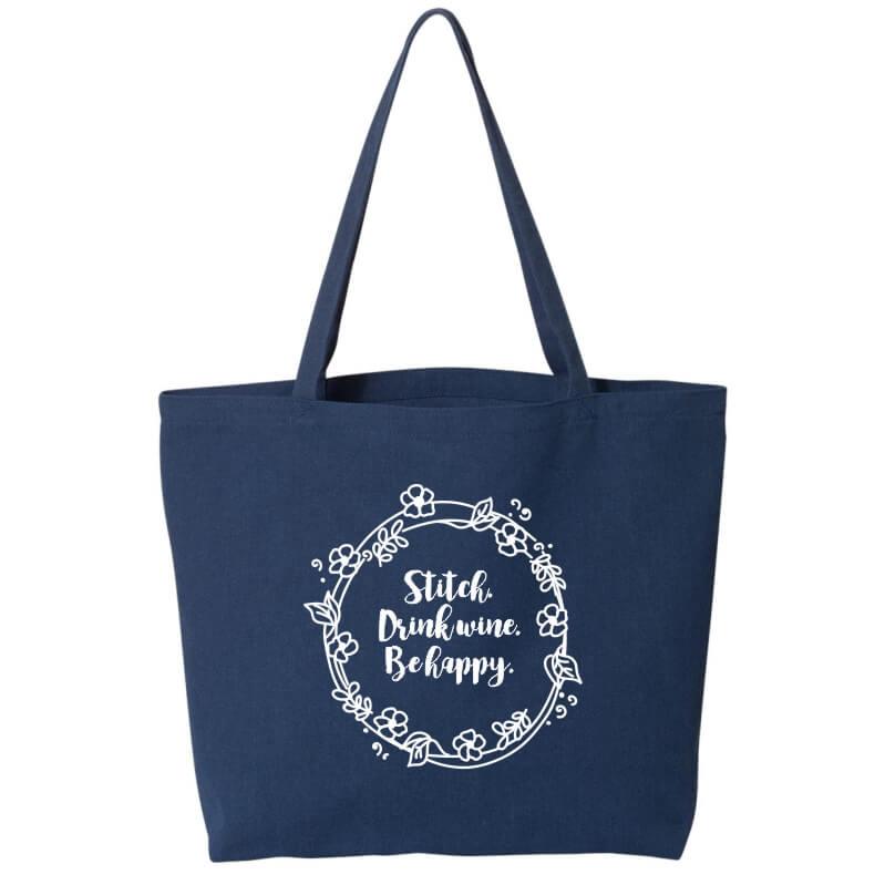 Stitch-Drink-Happy-Tote-Bag