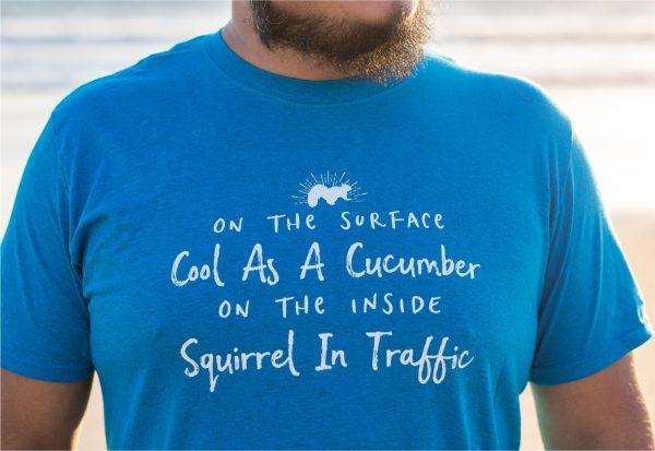 Squirrel In Traffic T-Shirt