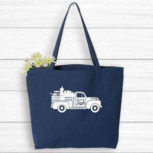 I Brake For Junk Vintage Market Tote