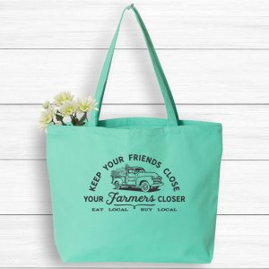 Keep Your Friends Close Farmer Closer Tote Bag