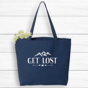 Get Lost Mountain Vacation Tote Bag