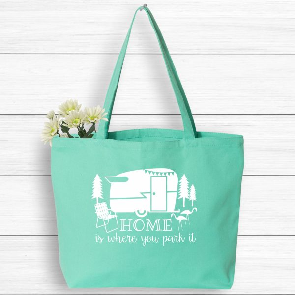 Home is Where You Park It Glamping Tote
