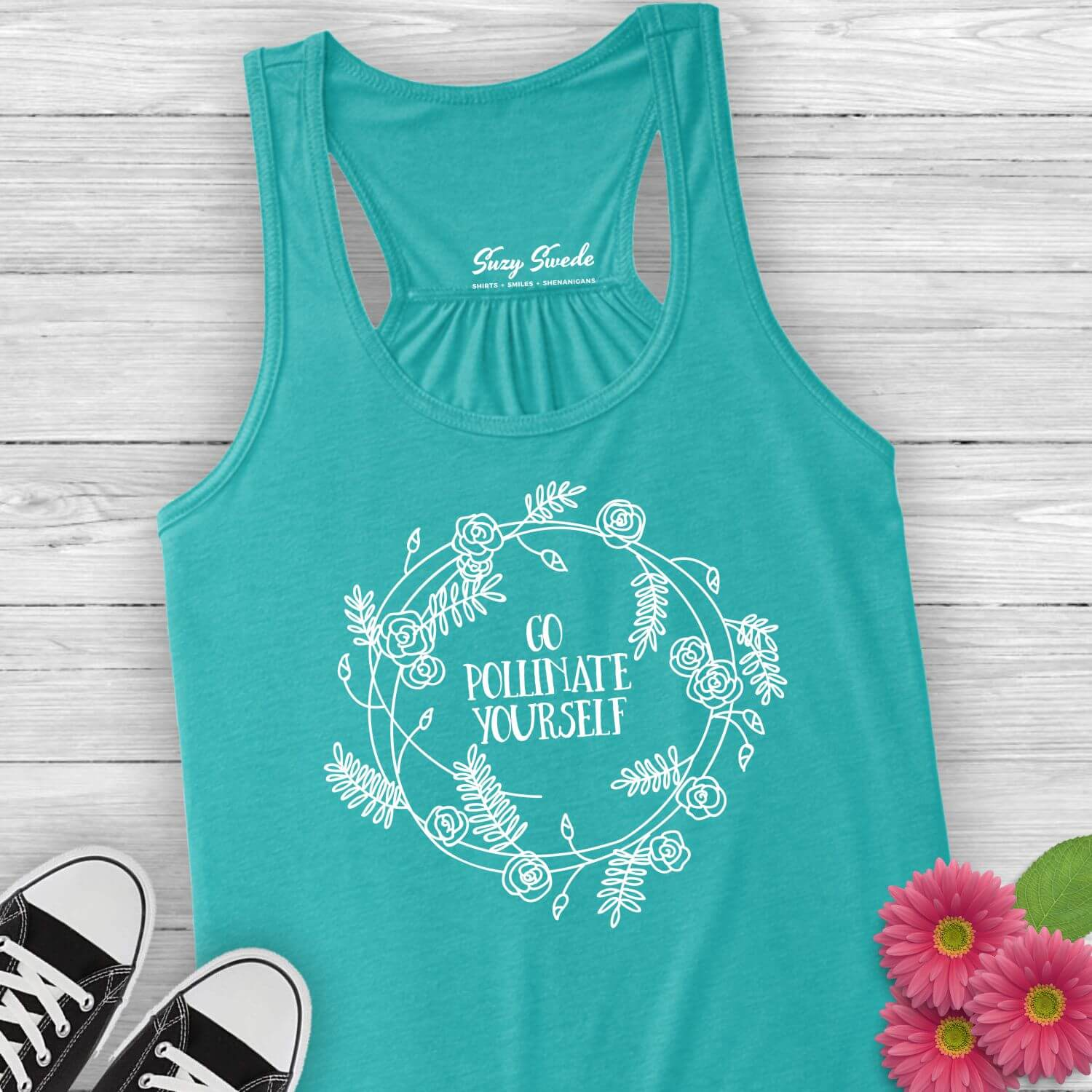 Go-Pollinate-Yourself-Ladies-Tank-Top