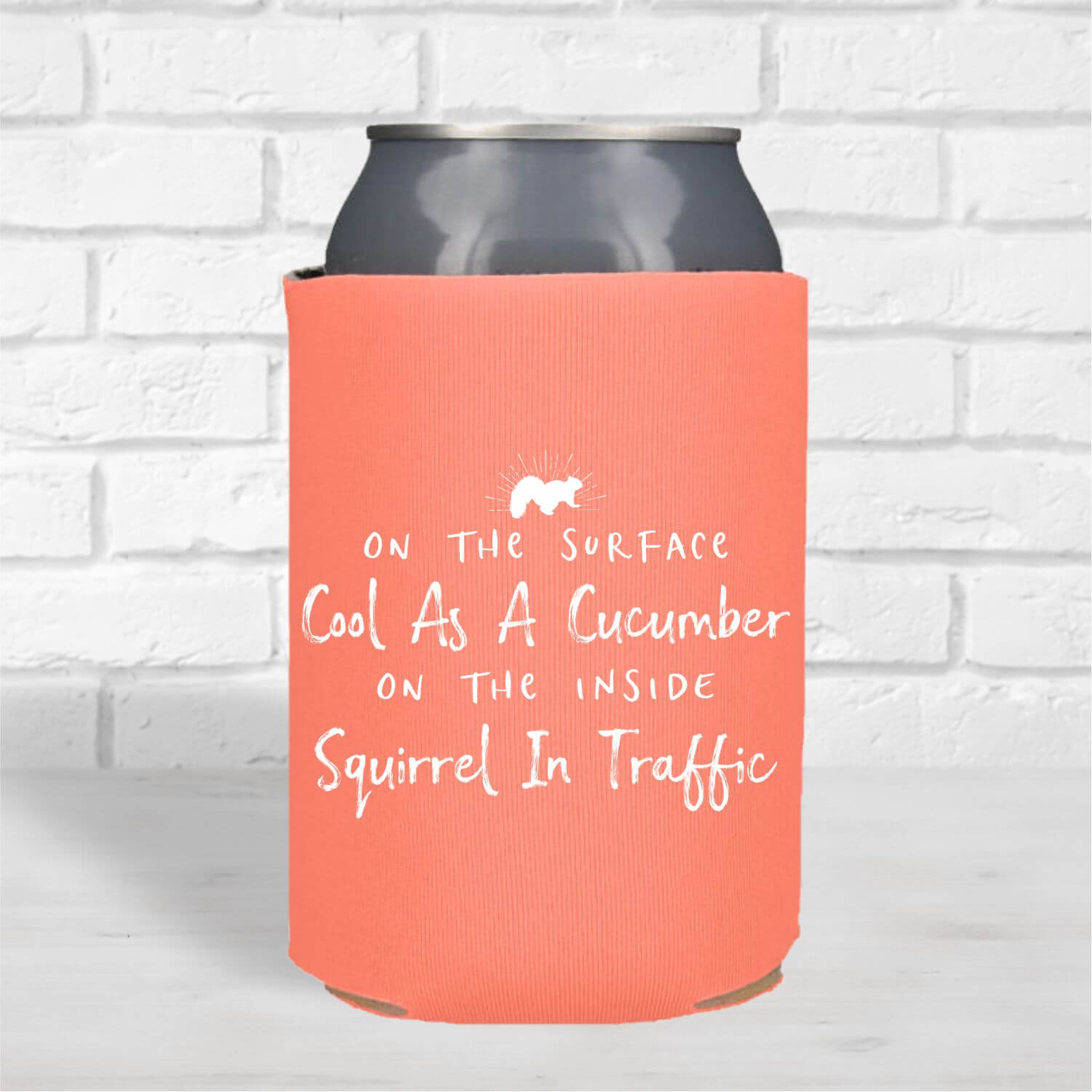 Can Coolers-Squirrel-Traffic-Flamingo