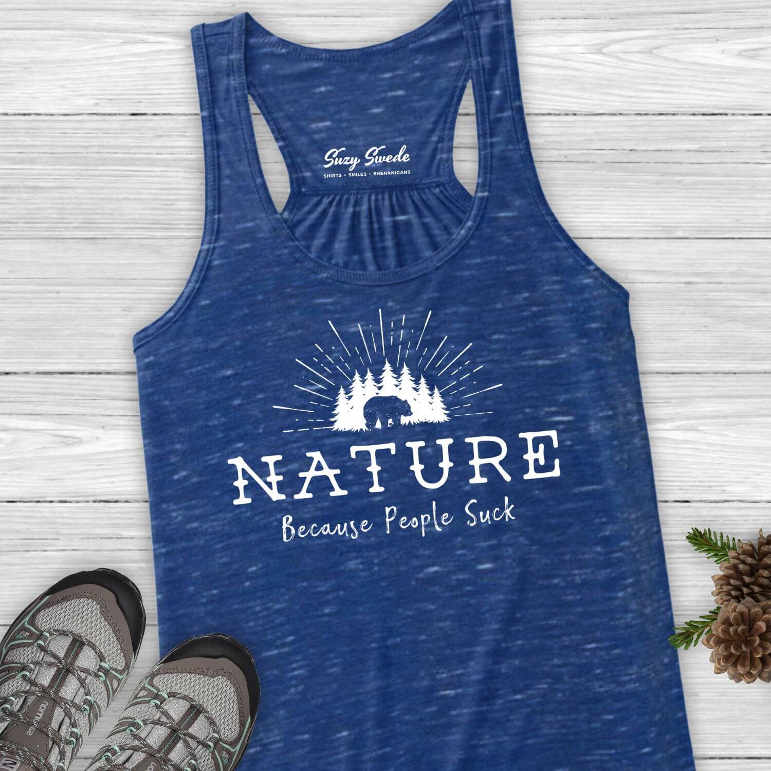 Nature-People-Suck-funny-Ladies-Tank