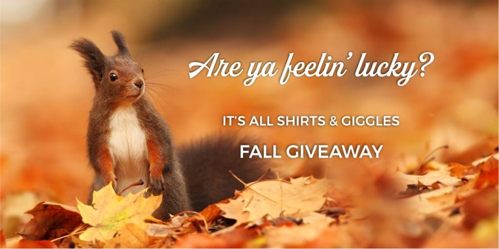 Suzy Swede ~ It's All Shirts & Giggles Fall Giveaway
