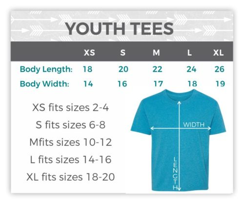 Size-YouthTees